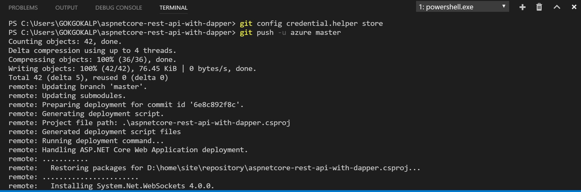 ASP NET Core Series 01: Building RESTful API with Dapper and Deploy