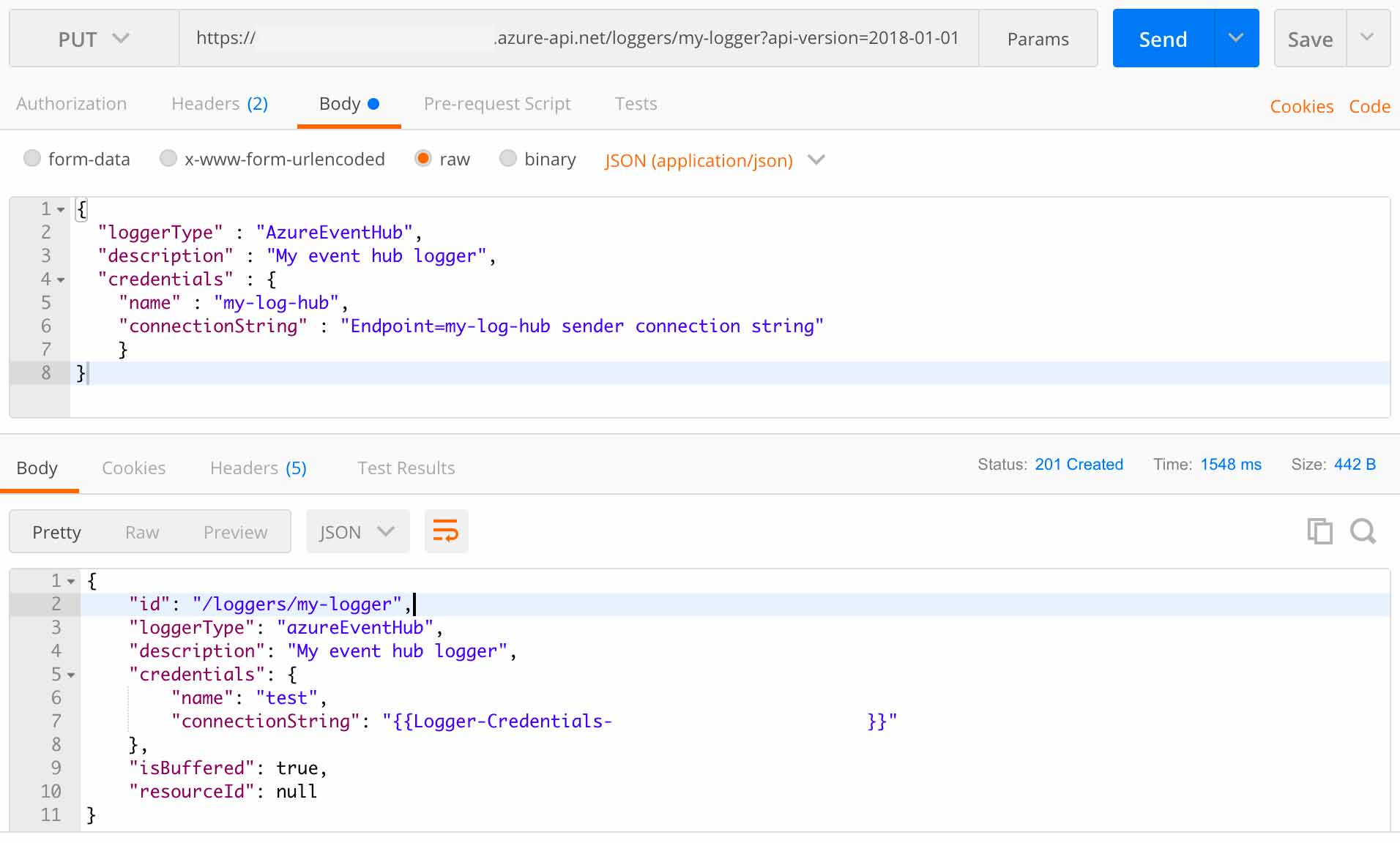 Logging API Requests and Responses to GrayLog over Azure API